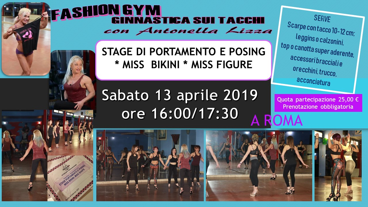 STAGE POSING 13 APRILE2019
